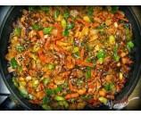 1.   Čínska kuracie panvica, dusená ryža    (130/250)g – 1,3,7